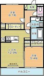 仮)D-ROOM蒲生[303号室]の間取り