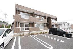 茨城県日立市金沢町4丁目の賃貸アパートの外観