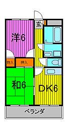 ホープフルマンション[4階]の間取り