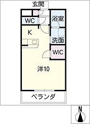 メゾンドヴェールII[3階]の間取り