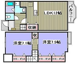 [タウンハウス] 大阪府和泉市葛の葉町 の賃貸【/】の間取り