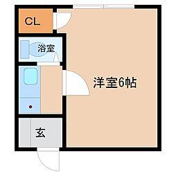 東京都杉並区和田1丁目の賃貸アパートの間取り