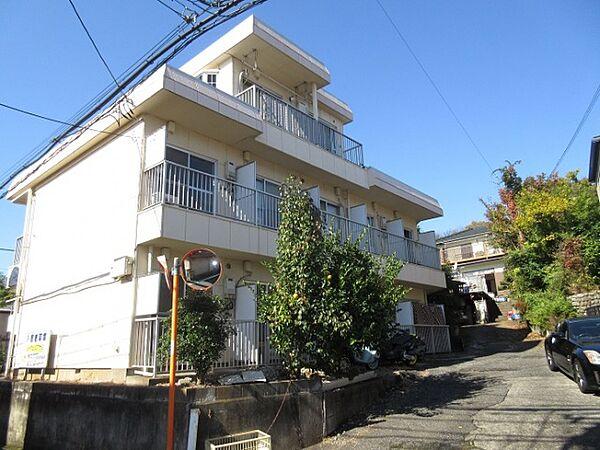東京都東村山市多摩湖町4丁目の賃貸アパートの外観