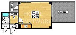 京都府京都市下京区若宮通五条上る布屋町の賃貸マンションの間取り