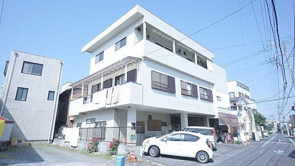 埼玉県熊谷市本石1丁目の賃貸アパートの外観