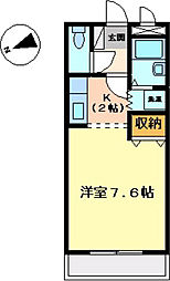 E.クレスト[1階]の間取り