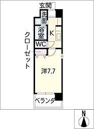 SUNNY HIGASHIYAMA[7階]の間取り