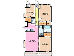 ソレイユ 11[2階]の間取り
