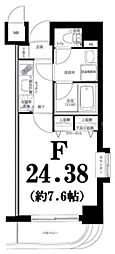 グリフィン横浜・サザンフォート[6階]の間取り