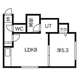 サニープレイスIII[2階]の間取り