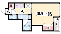 オルタンシア下山手[7階]の間取り