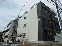 兵庫県尼崎市東園田町3丁目の賃貸アパートの外観