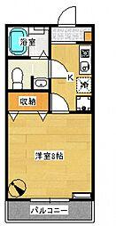 エクセルせいざんII-A[202号室号室]の間取り