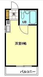 東京都北区王子本町2の賃貸アパートの間取り
