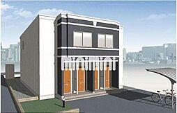 鵜沼東町A様Ⅳ期新築アパート[1階]の外観