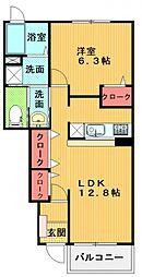 ルミナス・T[102号室号室]の間取り