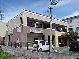大阪府岸和田市下池田町1丁目の賃貸アパートの外観