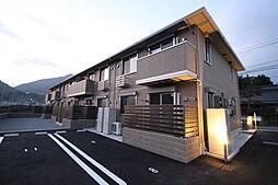 広島県広島市安佐北区亀山2丁目の賃貸アパートの外観