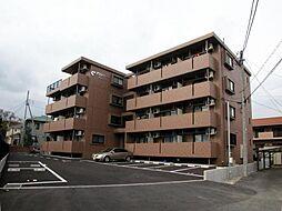 静岡県裾野市岩波の賃貸マンションの外観