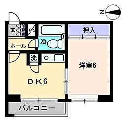MEIKO BLD[403号室]の間取り