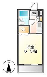 メゾン・ド・タブリエ[4階]の間取り