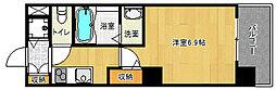 「アクアプレイス京都洛南II」[8階]の間取り