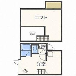 キティハウス[2階]の間取り