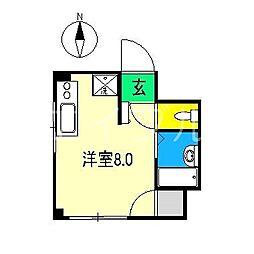 トライアングル筆山町[2階]の間取り