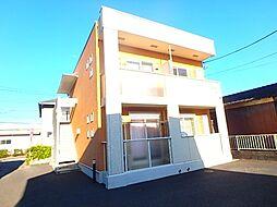 埼玉県北本市東間8の賃貸アパートの外観