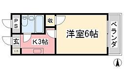 松山市駅駅 2.1万円