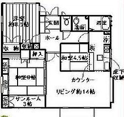 エトワールハイツ[1階]の間取り