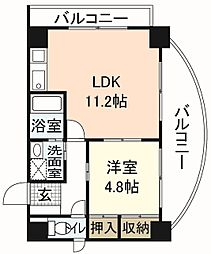 RESIDENCE西宮三篠町公園[8階]の間取り