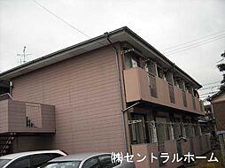 大阪府堺市東区引野町3丁の賃貸アパートの外観