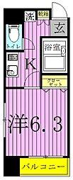 成美トラスト加賀2[1階]の間取り