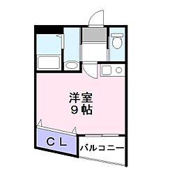 ピュアリティ90[3階]の間取り