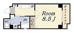 ドーム千代崎[5階]の間取り