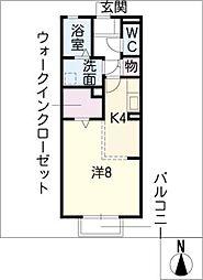 リビングタウン平井 A棟[1階]の間取り