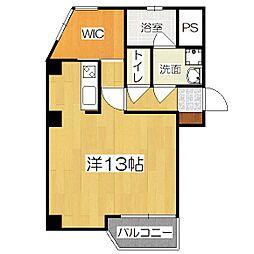 グランコート東野[2階]の間取り