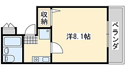 Rinon脇浜[505号室]の間取り