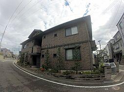 兵庫県宝塚市高松町の賃貸アパートの外観