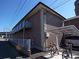 兵庫県明石市野々上3丁目の賃貸アパートの外観