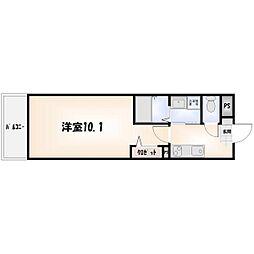K-クレスト吉野本町[302号室]の間取り