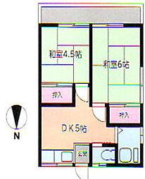 神奈川県川崎市高津区新作3丁目の賃貸アパートの外観