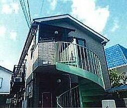 東京都文京区小日向3丁目の賃貸アパートの外観