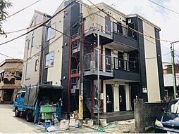 神奈川県横浜市南区睦町1丁目の賃貸アパートの外観