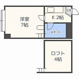 ロピア812[3階]の間取り