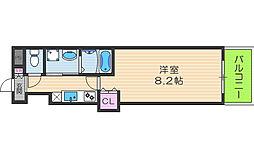 フォレスト梅田西[2階]の間取り
