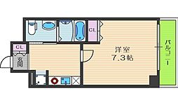 セイワパレス堂島シティ[2階]の間取り