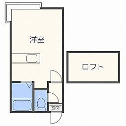 MHパレスN26[1階]の間取り