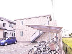 岡山県岡山市中区乙多見の賃貸アパートの外観